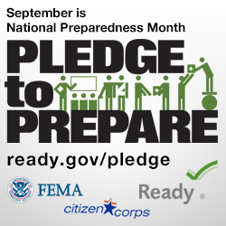 Get Ready for National Emergency Preparedness Month