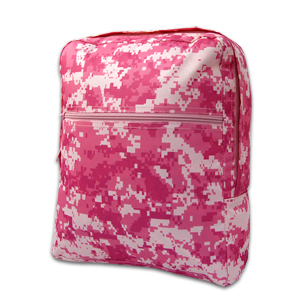pink camo bag for kids military