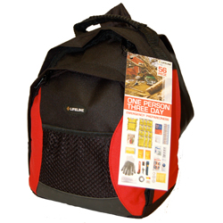 Emergency Preparedness Mini Backpack