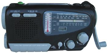 hand cranked radio